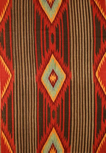 Kn532 Southwest Navajo Turkish Made 6 10 X 4